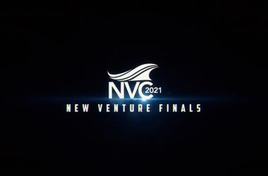 Animation of New Venture Finals Logo