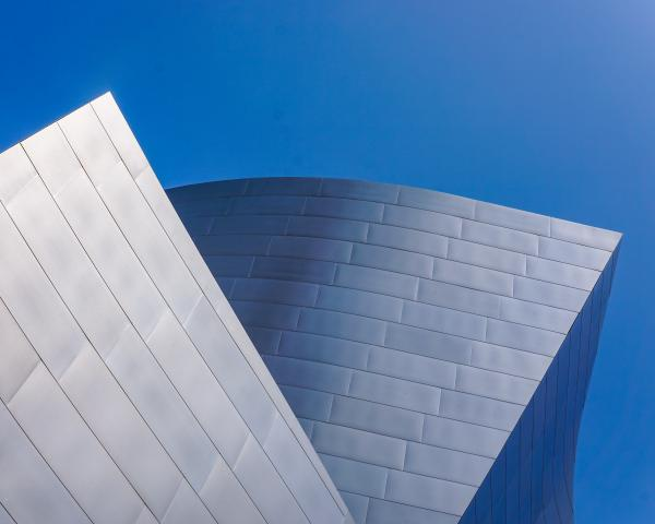 abstract image of a building