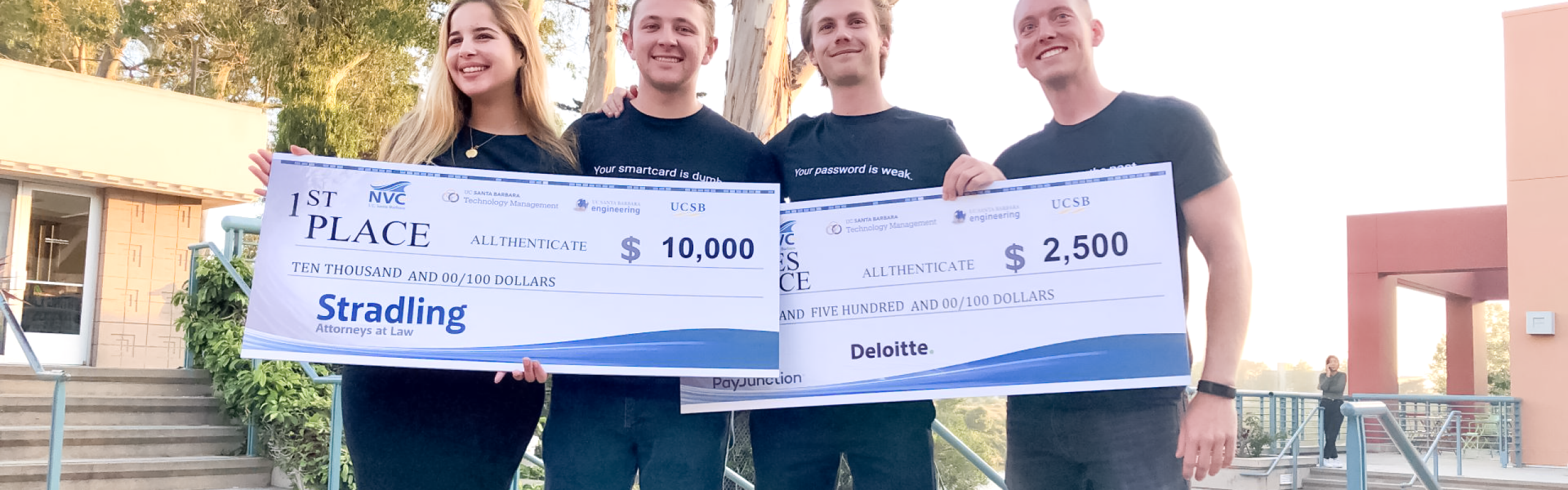 Allthenticate wins 2019 New Venture Competition at UCSB